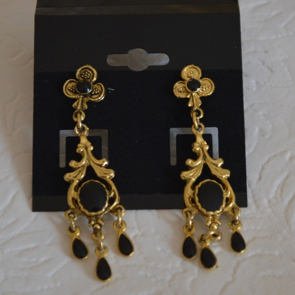 276a82e21 1928 Jewelry Jewelry   Goldtone Dangle Earrings   Poshmark